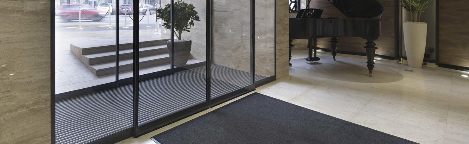 entrance carpet rolls Fordom home page slider